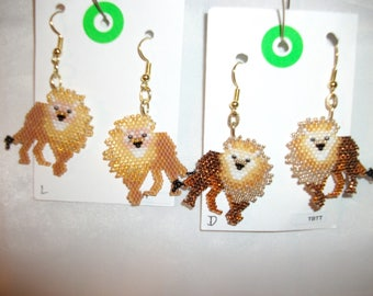 The Lion King of Beasts  Earrings  O