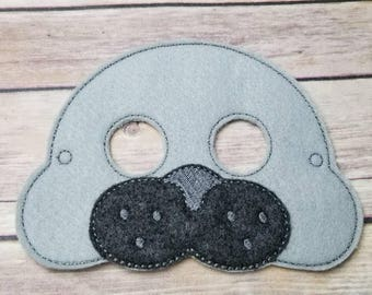 Seal mask Party halloween pretend play dress up