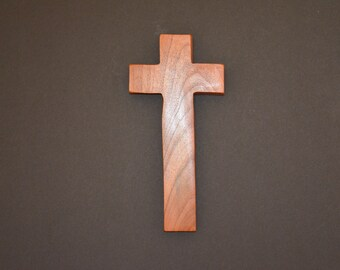 "Wood Cross; Christian Gift; Home Decor; Wood Gifts; Wedding Gift; Sympathy Gift; Mesquite;4""x9""x1""; Free Ground Shipping USA; cc20-1031518"