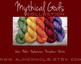 MTO Mythical Gods Collection Tonal Base Colors with Speckles Autumn Fall Green Yellow Orange Red Purple Dark