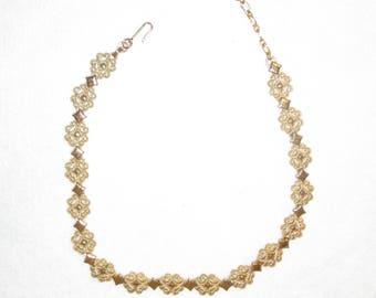 Intricate AVON Vintage Gold Choker