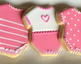 Baby shower cookies 2 dozen