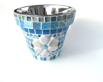 Space Saver Water Bowl, Raised Water Bowl, Elevated Dog Dish, Single Bowl Diner, Dog or Cat Water Bowl, Medium Bowl Diner