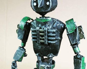 Assemblage green droid