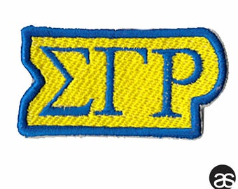 Sorority Iron-on Patch – Sigma Gamma Rho