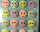 Pastel Smiley Face Cabochons Jolees Boutique