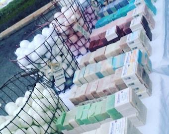 Honey Grits Soap - 5 oz Inglenook Soaps Home Scents Home Goods Honey Soap Grits Soap Pthtlatate-Free