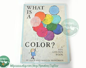 What is a Color? By Alice and Martin Provensen [Ex-Lib]