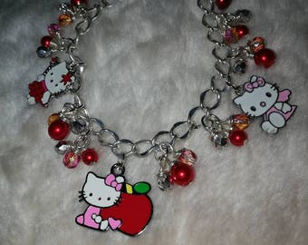 Hello Kitty Charm Bracelet
