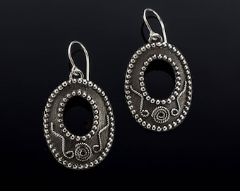 Mission -  Sterling Silver Earrings