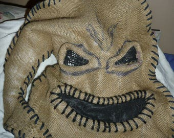 Oogie Boogie man mask ONE SIZE, oogie boogie mask, Oogie Boogie costume, Oogie Boogie man costume, Nightmare before christmas costume
