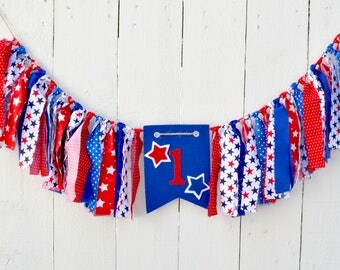 July 4th Birthday - boy birthday - Stars and Stripes - Little Firecracker - Firecracker Birthday - girl birthday - 4th of July Birthday