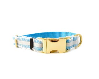 Dog Collar Inspired by Alice in Wonderland, Personalized Dog Collar Optional