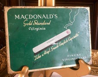 Vintage MacDonald's Cigarette Tin