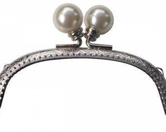 One Purse Handle Pochette Ball Pearl, Ellen Medlock Accessories #EMP209P