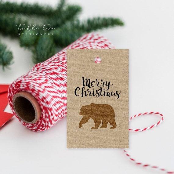 Christmas Gift Tags - A Woodlands Christmas