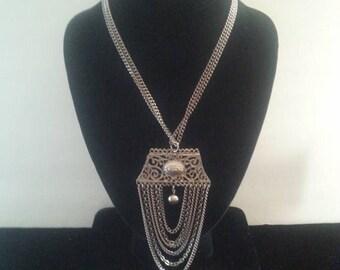 Now On Sale Retro Statement Necklace ** Vintage 1960's Jewelry **