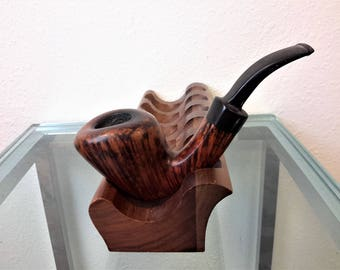 Svendborg Tobacco Pipe Briar Wood C Rasmussen Danish Made Collectible Smoking Pipe Tobacciana STAND NOT INCLUDED