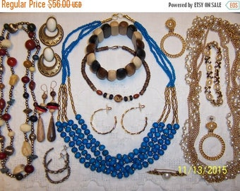 TWICE A YEAR, 25% Off Vintage Jewelry (Lot 128). Big and medium.