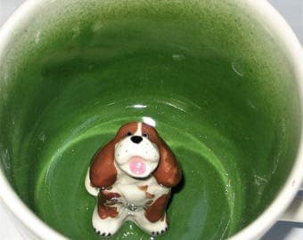 Spotted Spaniel Surprise Coffee Mug