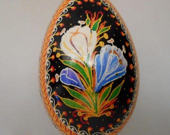 Goose Egg Pysanky Pysanka from Ukraine By Ulyana Linda