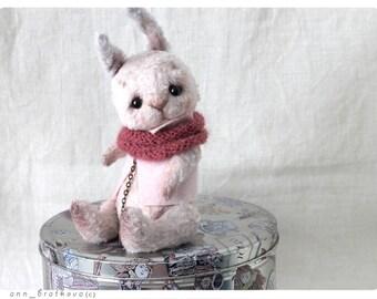 Artist Teddy Сute Snow Bunny 15 cm 6 inch
