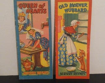 Vintage Nursey Rhymes Books (2 )