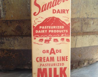 vintage milk carton etsy. Black Bedroom Furniture Sets. Home Design Ideas