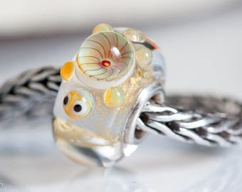 Small Core Turtle Artisan Bead SRA Lampwork Beads BHB