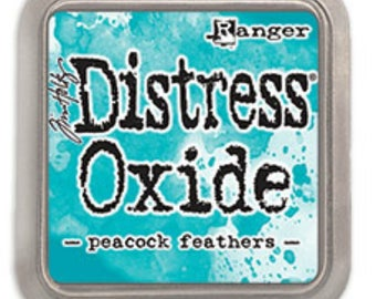 SALE Tim Holtz Distress Oxide Peacock Feathers, Ranger TDO56102