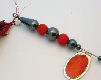 Red Fishing Lure