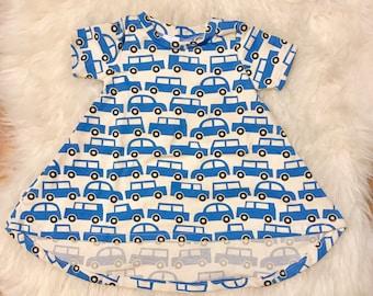 6-9mo Cars Swing Dress