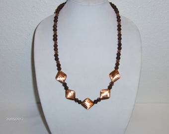 Eye Catching Copper and Wood