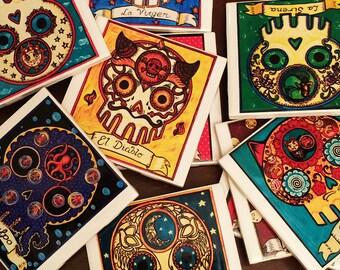Buy 6 Tiles - Calavera Loteria