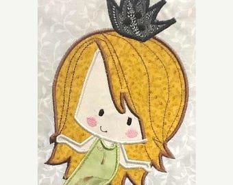 ON SALE Cute Baby Mermaids 03 Machine Applique Embroidery Design - 4x4, 5x7 & 6x8