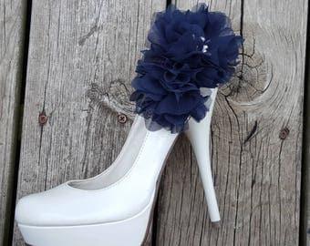 Shoe Clips, Chiffon Floral Design, MANY COLORS, Wedding Shoe Clips, Bridal Shoe Clips for wedding shoes, bridal shoes, accessories, women