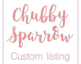 Custom listing for JonTreagus