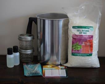 Natural Soy Candle Making Kit