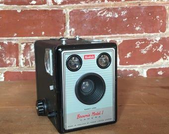 Vintage Brownie Cameras - A Pair - Bookend, Decor