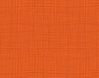 Linea - Linea in Pumpkin - Makower UK for Andover Fabrics - TP-1525-N5 - 1/2 yd