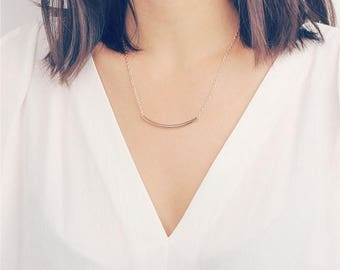 ON SALE Delicate simple everyday simple layered chain necklace