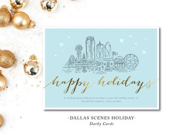 Nashville Scenes Holiday Cards