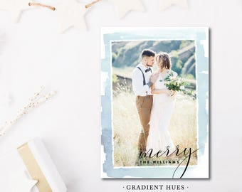 Gradient and Hue Christmas Cards