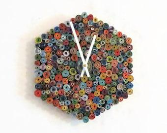 Wall Clock,  Eco Home Decor, Ready To Ship,  Decor and Housewares, Home and Living