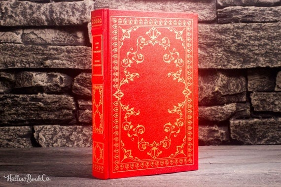 Hollow Book Safe - Crime and Punishment (LEATHER BOUND)