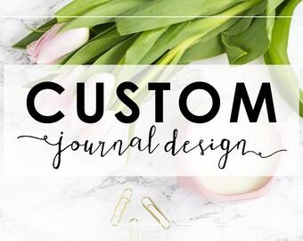 Completely Custom Journal Cover Design