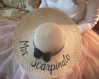 Personalized Floppy Hat