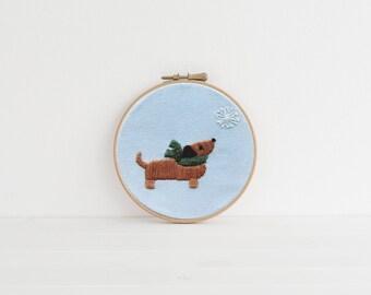 Darby + Dot™ - Snowflake - M&C DIY Mini Embroidery Kit