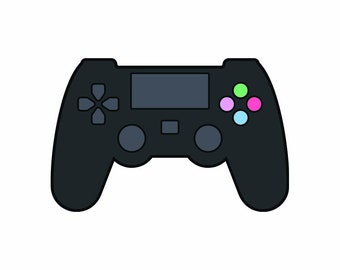 PS4 Early 2010's Contoller Vinyl Sticker Decal