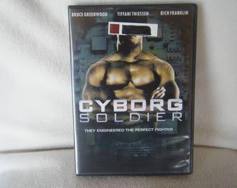DVD Movie Cyborg Soldier - Used